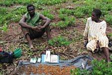 Soil work in Central Africa
