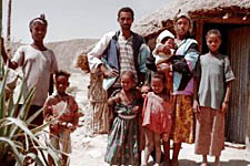 Soil work in Ethiopia