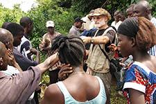 Soil work in Liberia
