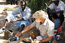 Soil work as part of Millennium Villages Project