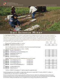 Soil Science Minor